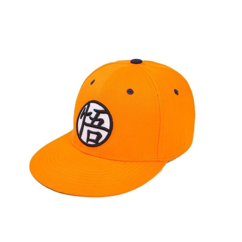 Dragon ball Cosplay High Quality Dragon ball Z Goku Hat Snapback Flat Hip Hop caps Toy For Kids Birthday Gift (8)