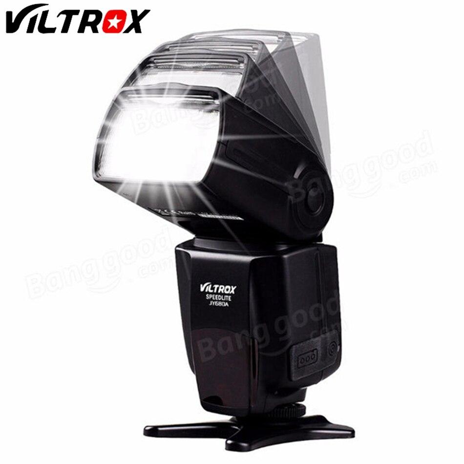 VILTROX JY-680A LCD Universel Flash Speedlight pour Canon 1300D 1200D 760D 750D 80D 5D IV 7D pour Nikon 7200D 5500D 5D 610D