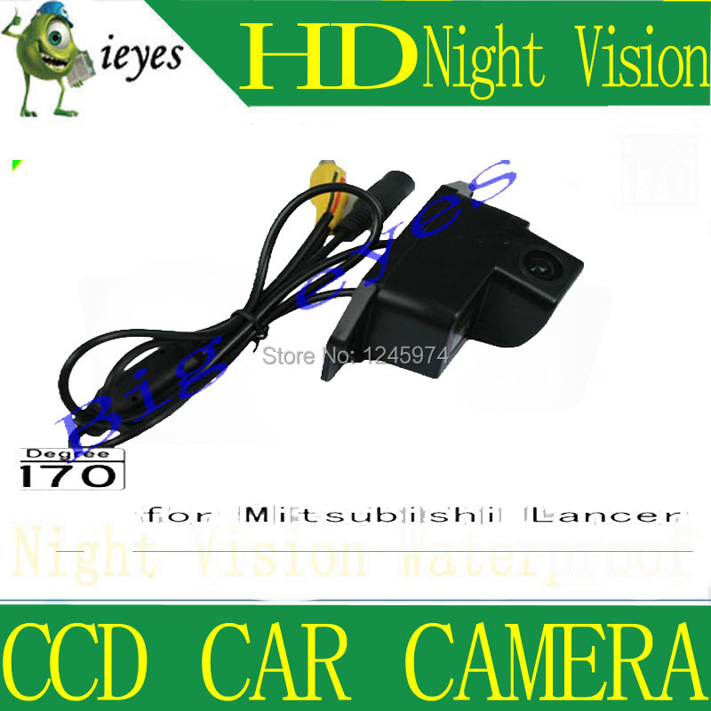 CCD Color Car Reverse Rear View Parking Back Up Camera For MITSUBISHI Lancer - фото 4