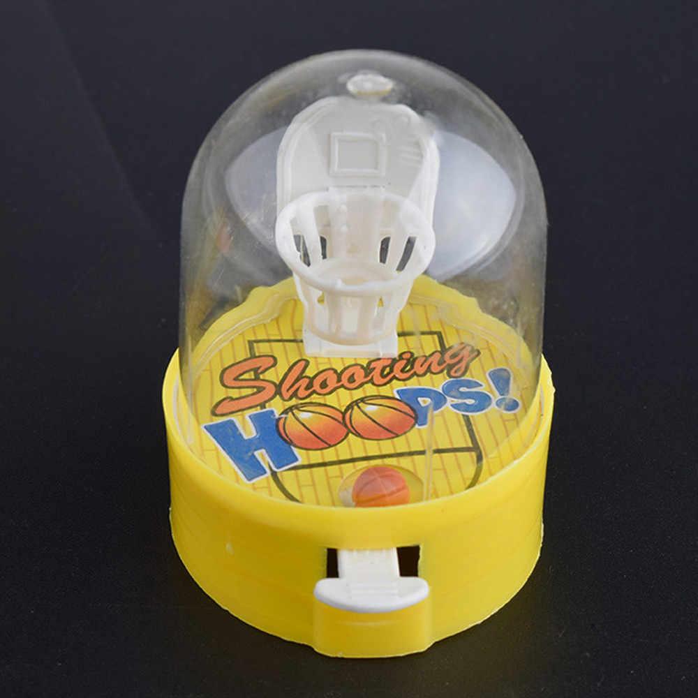 آلة كرة السلة التنموية ضد الإجهاد لاعب يده الأطفال كرة السلة اطلاق النار الضغط اللعب هدية صغيرة دروبشيب