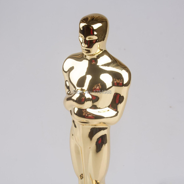 High Quality Oscars Trophy Award Metal Scale Replica Music TV Movie Souvenirs 34cm 5kg awards