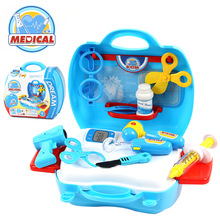 Doctor toys children pretend play house toys child medical kit classic toys Simulation medicine for boys