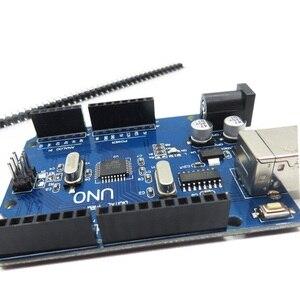 Image 3 - 5pcs/lot UNO R3 Development Board For Arduino (Compatible) UNO MEGA328P CH340 NO USB CABLE
