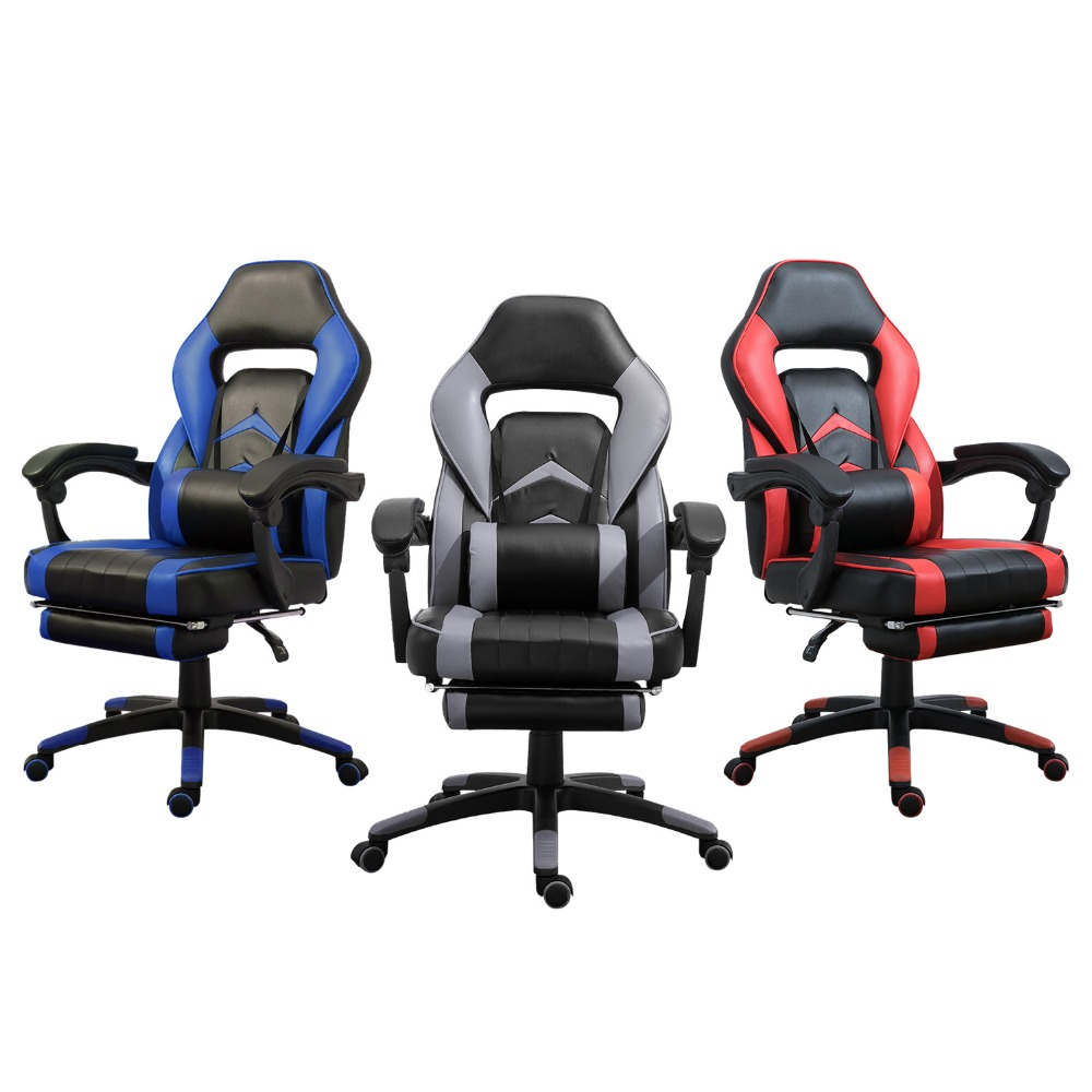Swivel-Lift-Chair Office-Chair Executive Ergonomic-High-Back Backrest Adjustable Gaming