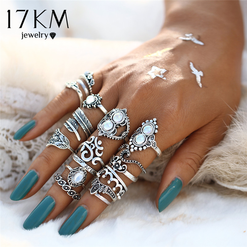 ring literature jewelry in vintage style spring finger ring Flower Lenz