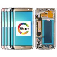 5,5 дюймов Супер AMOLED ЖК дисплей для samsung Galaxy S7 Edge G935F G935FD ЖК дисплей + сенсорный экран дигитайзер сборка запасные части