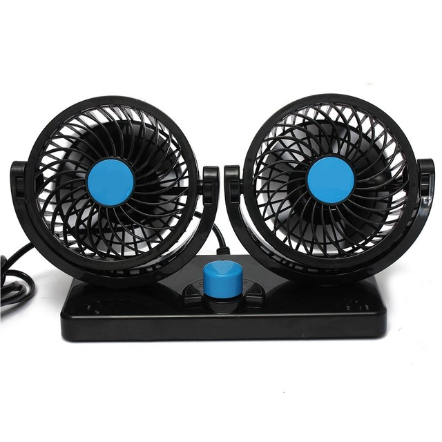 2016 New 360 Rotating Free adjustment Portable Car Auto Mini Air Cooling Fan Summer