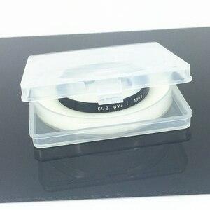 Image 4 - Leitz UVa השני UV מסנן עדשת מגן עבור לייקה מצלמה TL2 ש D LUX UV A שחור כסף E39 E43 e46 E49 E52 E55 E60 E62 39 43 46 mm