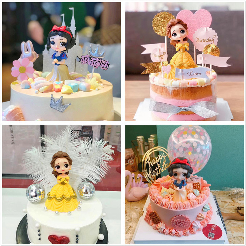 Prime Bell Princess Diy Birthday Cake Figures Frozenelsa Anna Rapunzel Funny Birthday Cards Online Alyptdamsfinfo