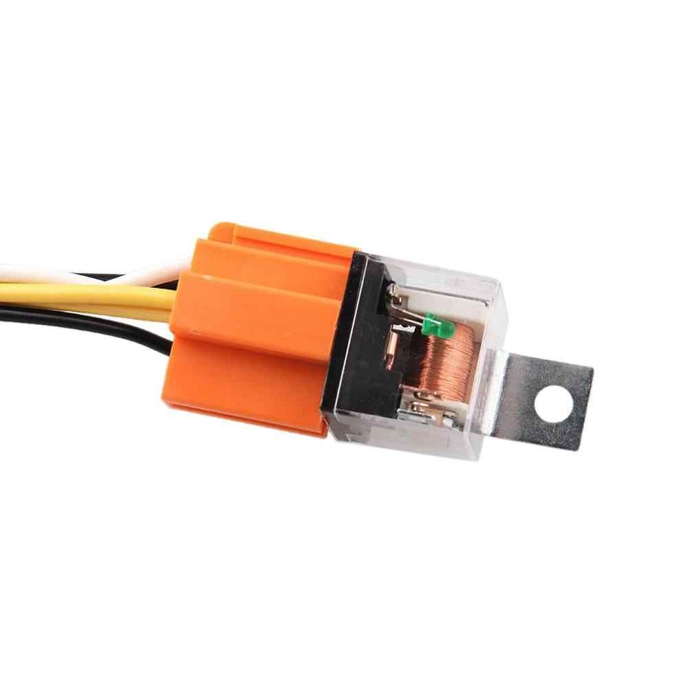 12 V Speaker Harness Relay Kit Universal Sound System USB MP3 Motor Speaker Elay Proteksi Kit Horn untuk Mobil Truk