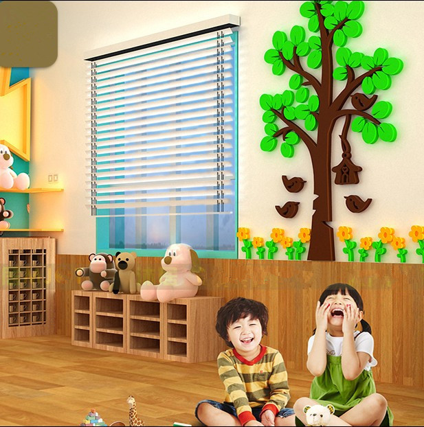 ... Cartoon Wall Stickers For Kids Rooms Kindergartens 3d Wall Stickers The  Sitting Room The Bedroom Wall ... Part 88