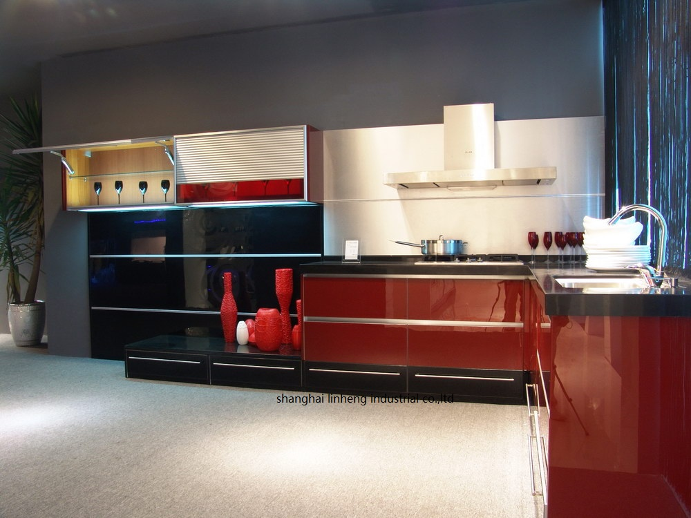High gloss/lacquer kitchen cabinet mordern(LH-LA071) high gloss lacquer kitchen cabinet mordern lh la095
