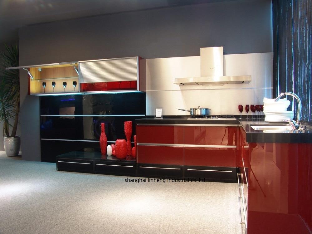 High Gloss/lacquer Kitchen Cabinet Mordern(LH-LA071)