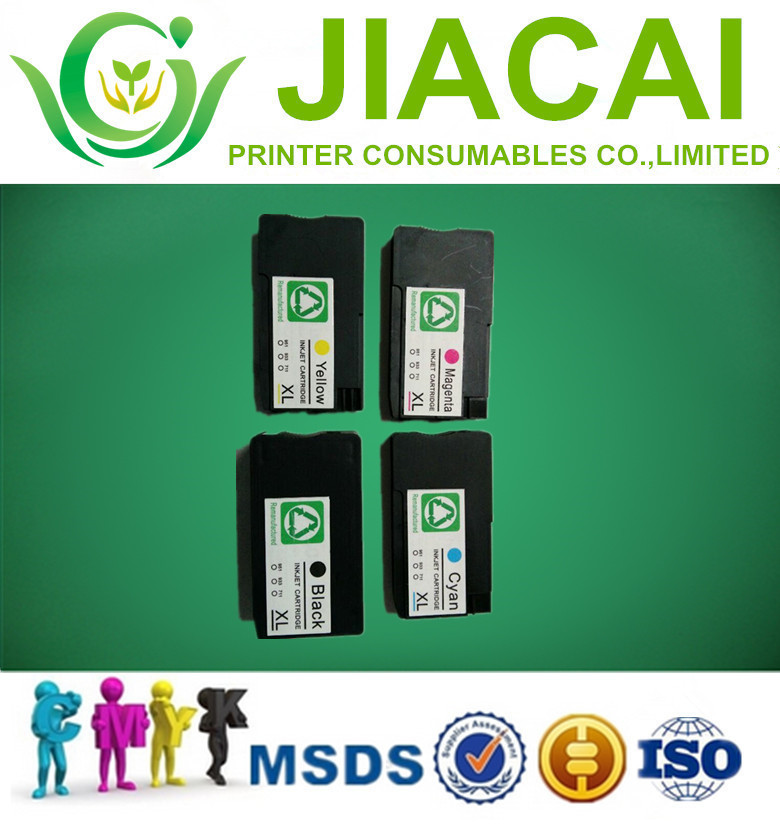 4PCS Compatible Ink Cartridge for HP 950 XL 951 Officejet Pro 8100 8620 8680 8615 8625 8600 8600 8610 Printer with full dye ink