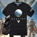 Recién llegado de destino Plan de juegos disparar Logo boy de camiseta o cuello de las camisetas acepta la gota del envío