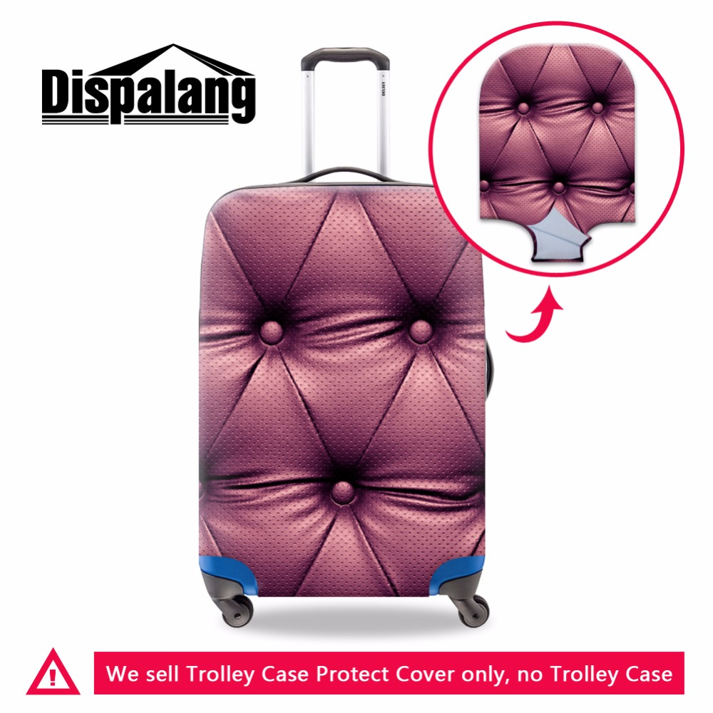 Modes ratiņu bagāžas pārvalki meitenēm bagāžas aizsargpārklājumi Sieviešu aizsargtērps aptver bagāžas aizsargu maisiņu sievietes