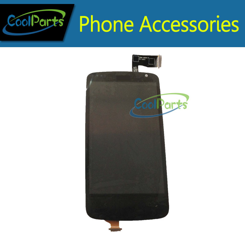 1PC/Lot For HTC Desire 500 LCD Display With Touch Screen Digitizer Black Color Free Shipping