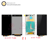 5.0 Original for SONY Z1 Display C6903 L39H LCD For SONY Xperia Z1 LCD Display Touch Screen Digitizer