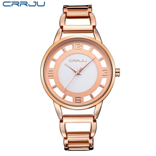 Zegarek damski Crrju Rose Gold trzy kolory