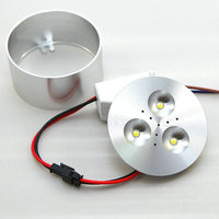 ETRN Brand 2015 NEW Super 3 3W Dimmable LED Downlights LED Cabinet Light Jewelry Recessed Lights