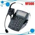 Call center telefone telefone do escritório com jack RJ9 fone de ouvido de telefone