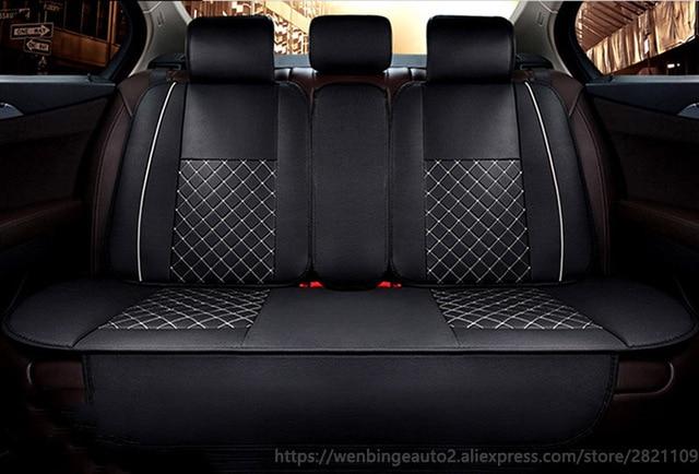 Hyundai Elantra Leather Rear Car Seat Covers
