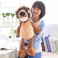 Large 65cm Cartoon Jungle Lion Plush Toy Soft Pillow Christmas Gift H718