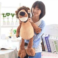 Large 65cm Cartoon Jungle Lion Plush Toy Soft Pillow Christmas Gift H718