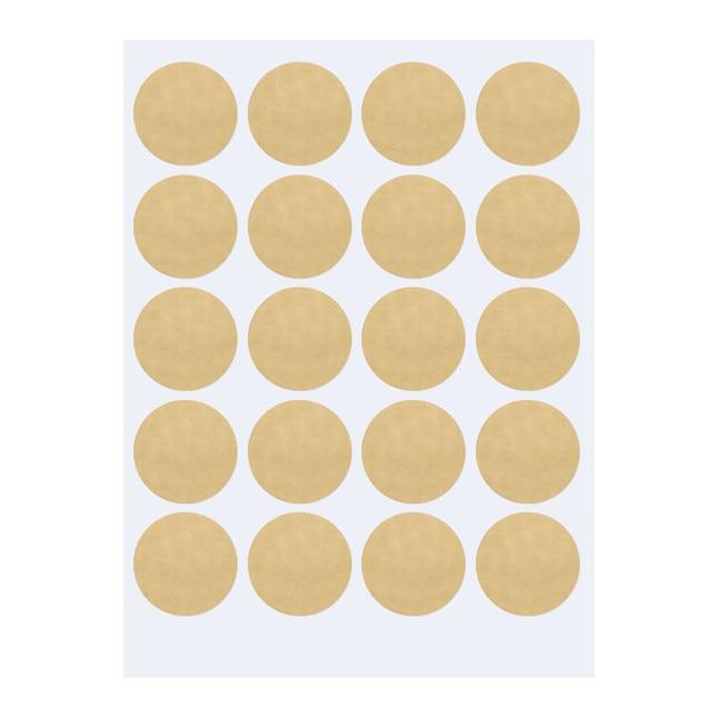 Online Shop Gold Polka Dots Wall Sticker Baby Nursery Stickers Kids ...