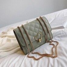 Female Crossbody Bag For Women 2019 Quality PU Leather Luxury Handbag Designer Sac Main Ladies Heart Lock Shoulder Messenger Bag