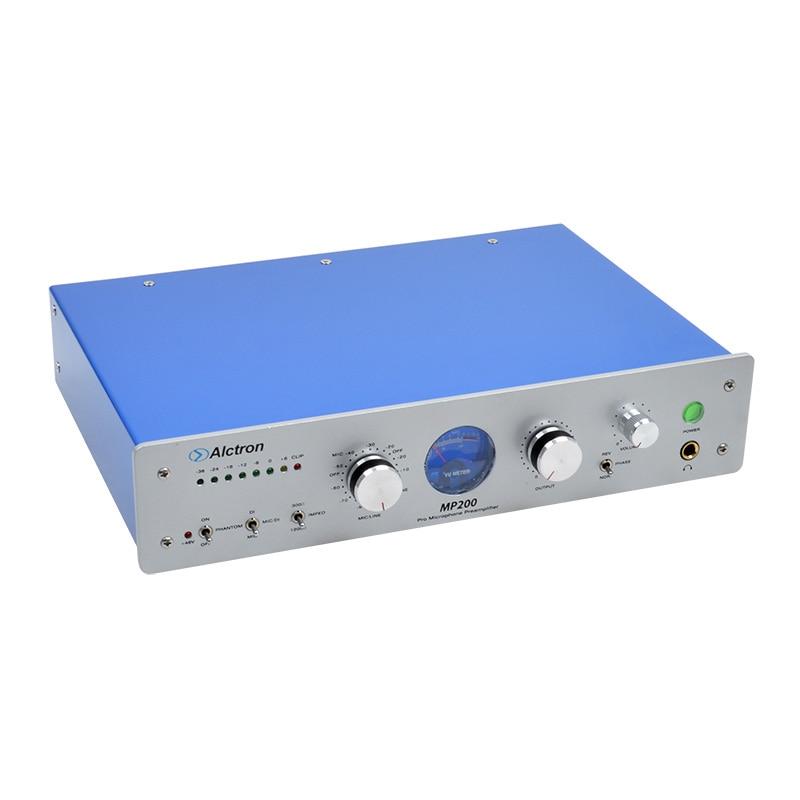 Professionelle Audio-aufnahme Alctron Mp200 Professionelle High-end Elektronische Tube Mic Vorverstärker Preamp Mikrofonverstärker ähnlich Neve 1073 Attraktive Mode