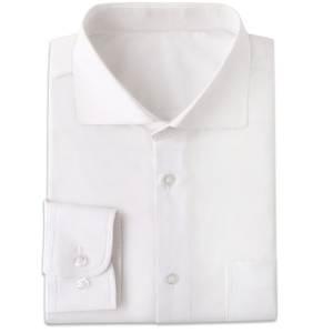 Mens Dress Shirt Long-Sleeve Custom-Made White Chemise Slim-Fit Blanche Wrinkle-Resistant