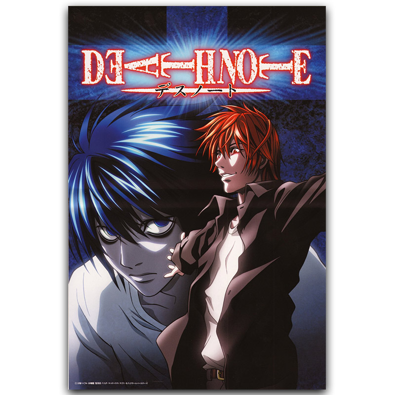 Death Note Poster Popular Classic Anime L And Night God
