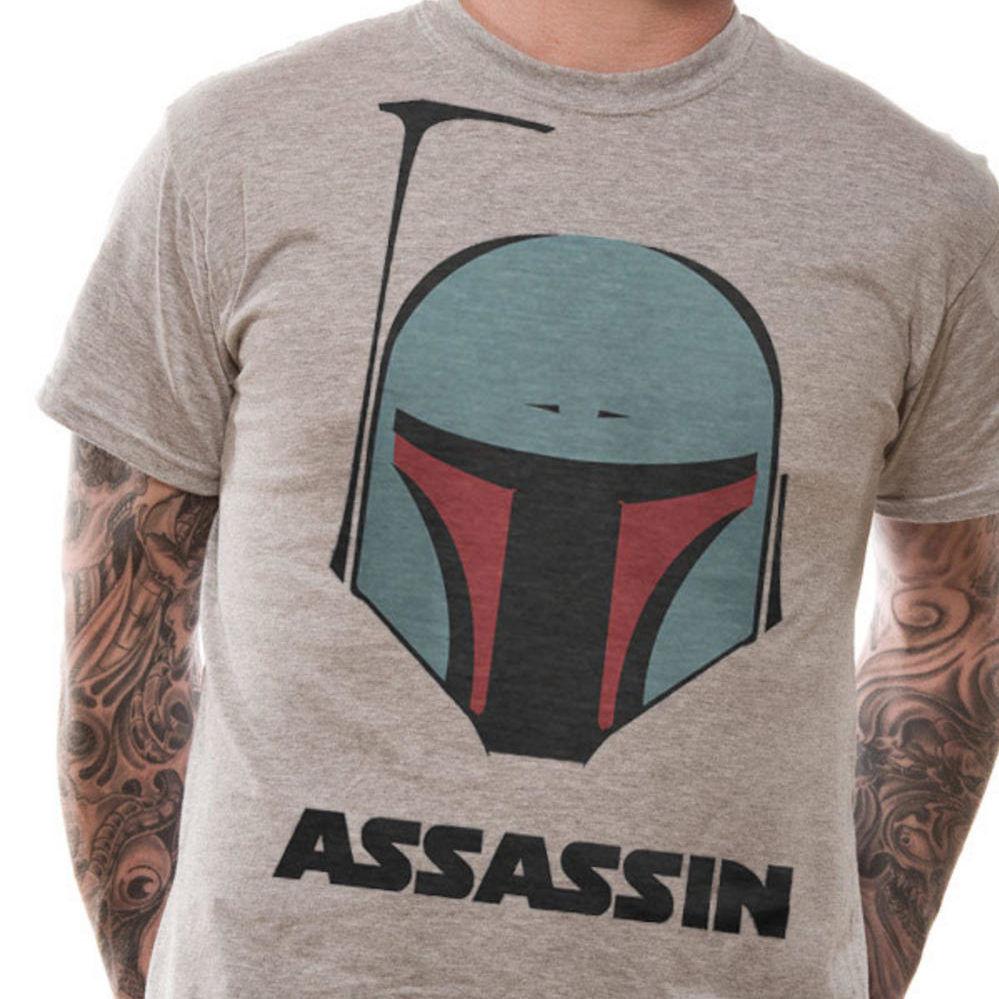 Star Wars Assassin T Shirt - NEW & OFFICIAL MERCHANDISE 2018 Fashion Short