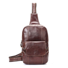 Men's Leather Travel Belt Hip Bum  Waist Chest Sling Bag Pouch Free Shipping