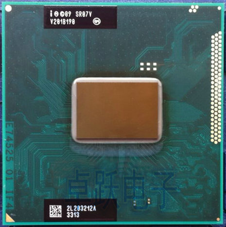Original Processor Intel B960 SR07V 2.2G 2M I3 I5 HM65 HM67 HM76 HM77 2310M 2330M 2350M 2410M 2430M Cpu