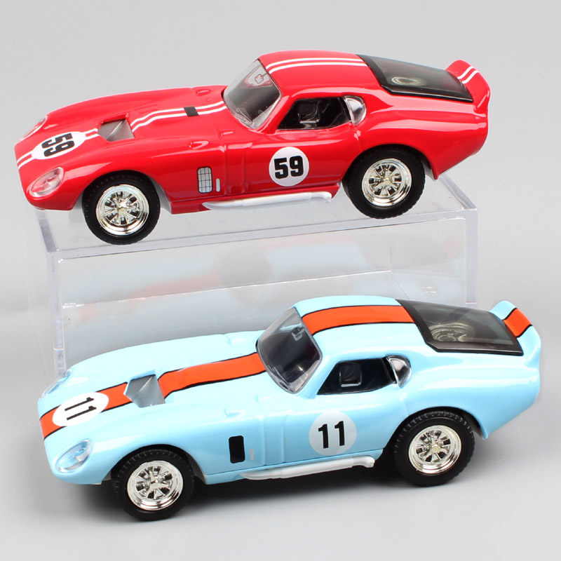 1 43 Small Scale Road Signature Ford GT Vintage 1965 Shelby Cobra Daytona Coupe No.11 No.59 Die Cast Metal Model Racing Car Toys