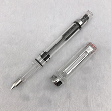 1pc Transparent Fountain Pen F/EF Nib for Choose Lanbitou Plastic Student Calligranphy Ink Pens School Supplies Stationery