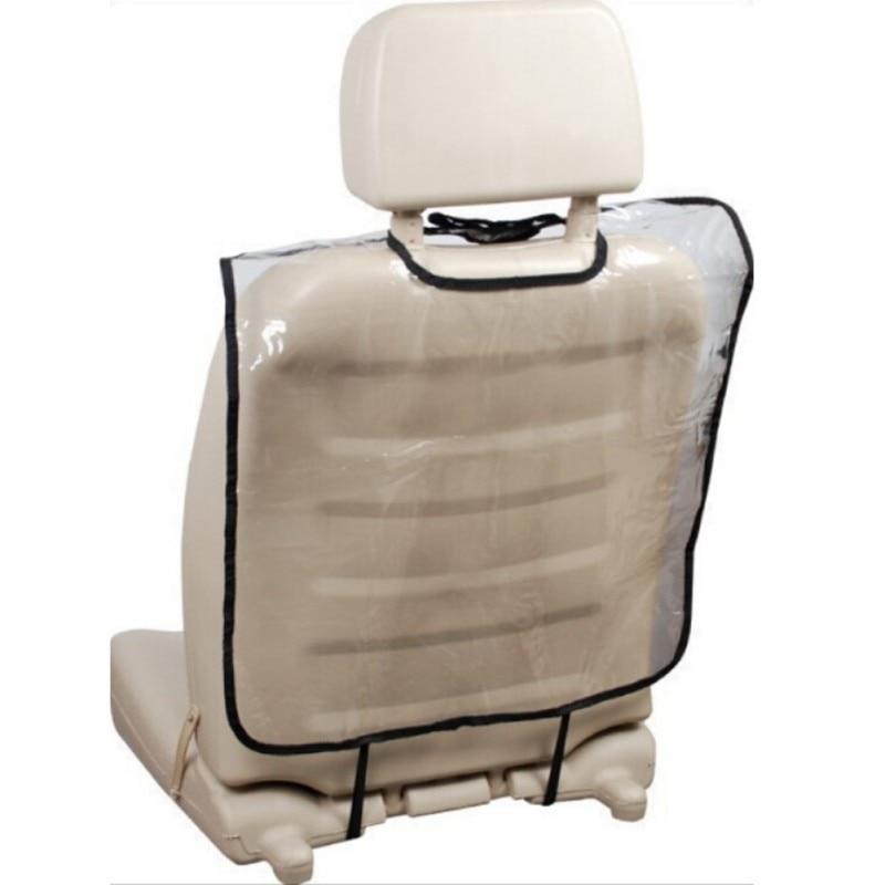 64*40cm Child Car Seat Back Cover Storage Organizer Back Protection Anti Abrasion Pad Anti Step Dirty Mat Car Decor Supplies