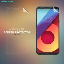 "2 шт./лот матовая защитная пленка для экрана для LG q6 NILLKIN матовая устойчивая к царапинам Защитная пленка для LG q6 5,5"""