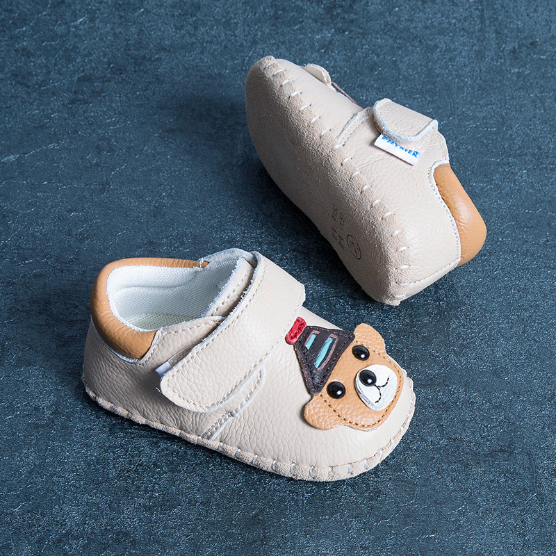 Phynier 2017 autumn new baby soft bottom shoes 0-1-2 year old baby school shoes cartoon shoes shoes