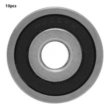 10 PCS 10x35x11mm 6300-2rs 2RS Double Rubber Sealed Deep Groove Ball Bearing linear slide bearings rulman 16 35 11mm f6202 f6202rs f6202 16 2rs 16x35x11mm flange bearing miniature deep groove ball bearing sealed ball bearings