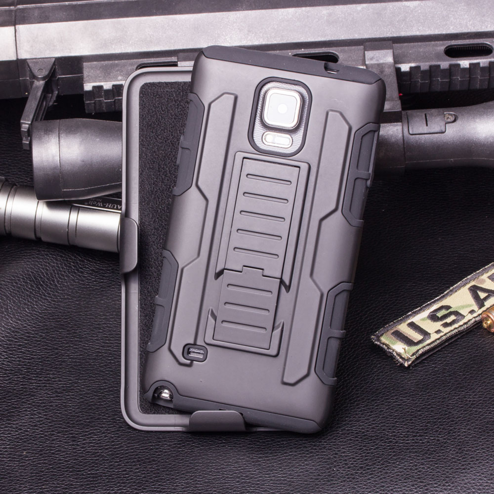 Armor Kasus Untuk Samsung Galaxy S6 S7 Tepi S4 Aktif Catatan 4 5 G530 - Aksesori dan suku cadang ponsel - Foto 3