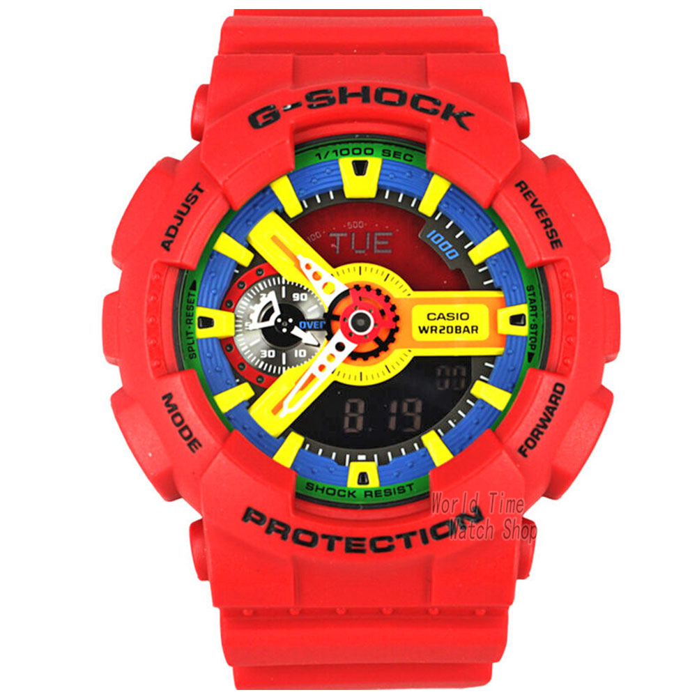 font b Casio b font font b watch b font large dial outdoor sports waterproof