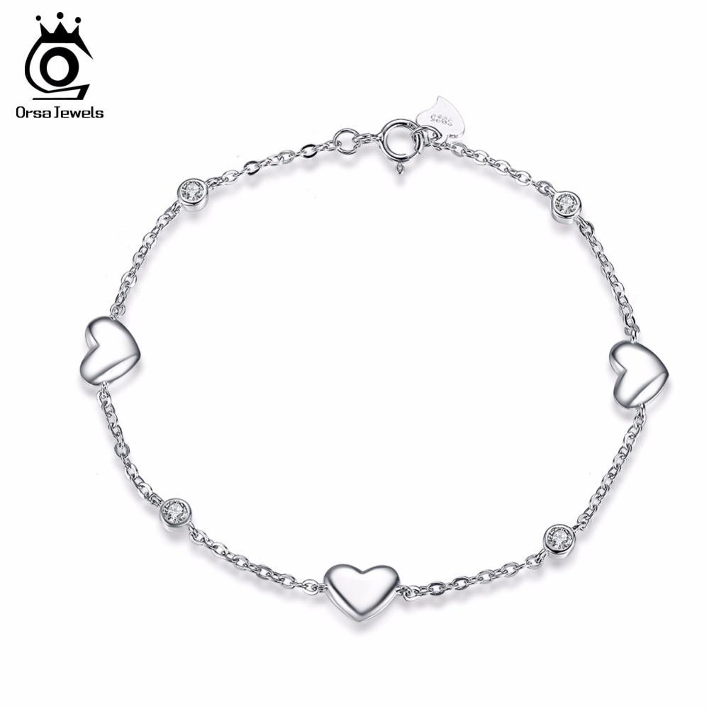 ORSA JEWELS 925 Sterling Silver Bracelets