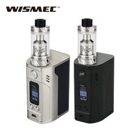 Original 300W WISMEC RX300 TC Vape Kit With Reux Atomizer Tank 6ml VS RX300 TC BOX