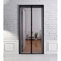 High Quality Summer Anti Mosquito Curtain Magnetic Tulle Curtains Automatic Closing Door Screen Kitchen Curtains Various Sizes