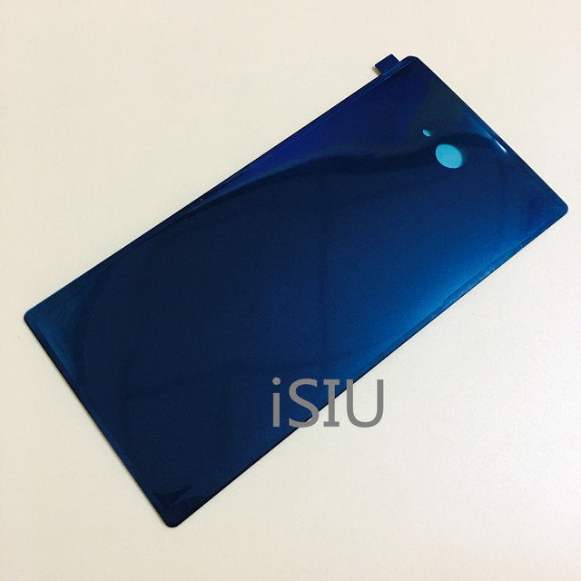iSIU Mobile Phone Case For Sony Xperia M2 D2302 D2303 D2305 D2306 Rear Glass Housing Repair Parts Battery Door Black White