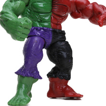 Pack of 4 Marvel Toys 12cm the Avengers Superhero Hulk Green Red Hulk PVC Action Figures Set Collectible Model Doll Toys