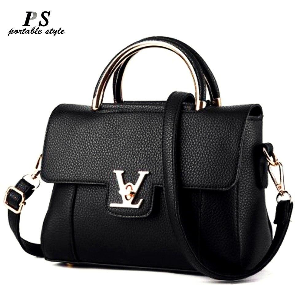 2019 Mulheres V Letras Anel Escritório Suburbano sacola Saffiano bolsas de Couro Das Mulheres Bolsa das Mulheres Bolsas Famosas Ladys V flap bag